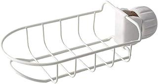 Égouttoir de cuisine Rack de rangement Salle de bains Évier de maison Organisateur Accessoires Suspendus Robinet de rangem...