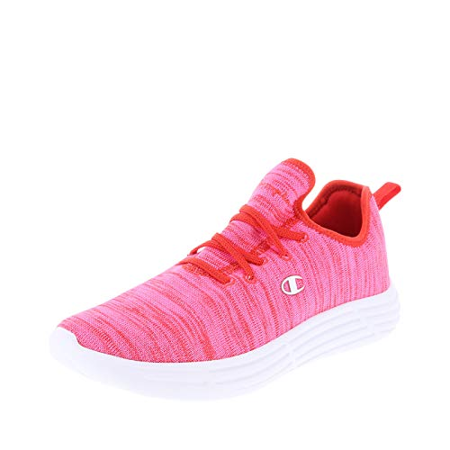Champion Red Pink Women's Adapter Sneaker 9 Regular