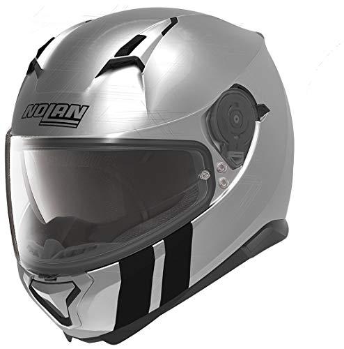 NOLAN Helm Motorradhelm Integral N87 MARTZ Scratched Chrome L