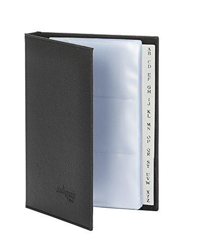 Pardo 615001 - Tarjetero profesional formato 1/4, color negro
