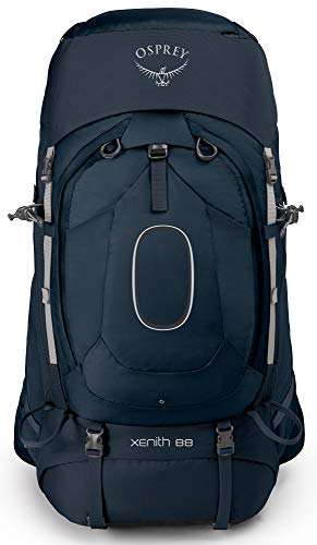 Osprey Xenith 88 Men's Backpacking Backpack, Discovery Blue, Large