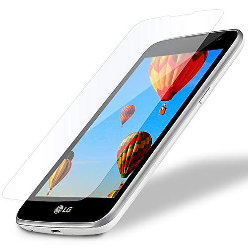MYCASE 1x Bildschirmschutz Folie für LG K4 (VS425) | Echt Glas | 0,3 mm Dünn