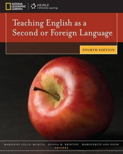 Compare Textbook Prices for Teaching English as a Second or Foreign Language 4 Edition ISBN 9781111351694 by Celce-Murcia, Marianne,Brinton, Donna M.,Snow, Marguerite Ann,David Bohlke