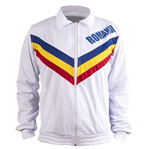 JL Sport Roia Olimpico Palestranastic Giacca Montreal 1976 Olimpiadi Edition - Perfect 10 Medaglia d'oro - XL