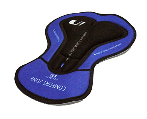 ONOGAL Badana de Gel Profesional 3D Densidad 120 Culotte Antimicrobial Ciclismo 2852g