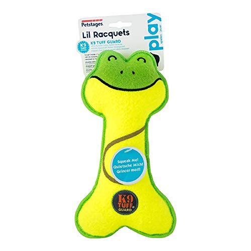 Charming Pet Lil' Racquets Frosch Hundespielzeug