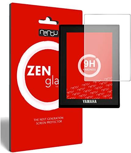 ZenGlass (2 Stück) Flexible Glas-Folie kompatibel mit Yamaha LCD Display (E-Bike Display) Panzerfolie I Display-Schutzfolie 9H