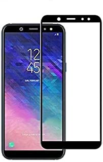 Tempered glass screen protector for samsung galaxy A6 Plus 2018 - Black