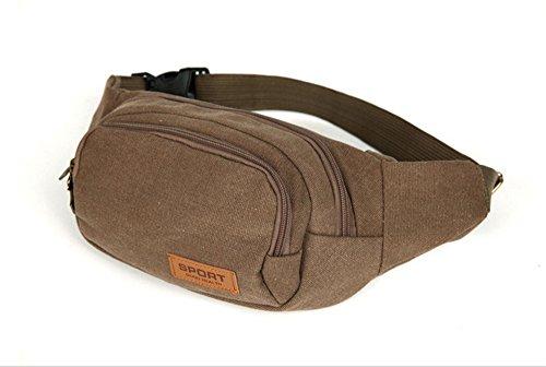 hoverwings riñonera, bolsa mujer bandolera riñonera bolsa de deporte impermeable Pack bolsillo...
