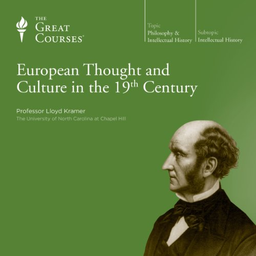 European Thought and Culture in the 19th Century audiobook cover art