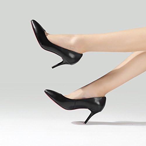 SSBY De Nouveau Les Chaussures De Femmes Bien Des Talons Forte Tête Fainéant 7 Cm.