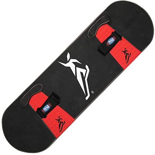 NorthShore Pro-Bounceboard Trampoline Skills and Training Board (Red)