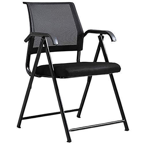 LITING Conferentiestoel voor kantoor opvouwbaar met computerstoel van kunststof eenvoudige installatie bureaustoel beste ergonomisch design