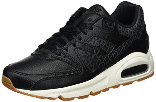 Nike Wmns Air Max Command Prm, Scarpe da Ginnastica Donna, Nero (Black/Black-Sail-Gum Med Brown), 35.5 EU