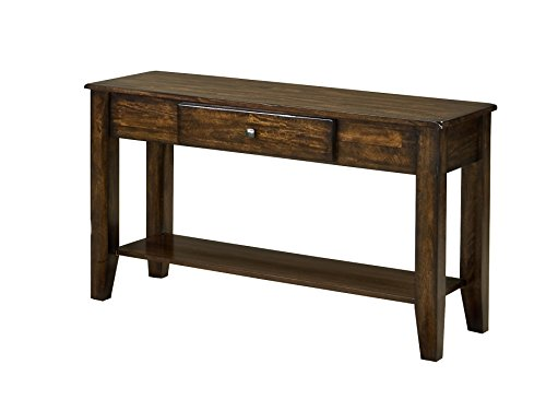 Intercon Kona Sofa Table, 49 x 18 x 30', Rasin