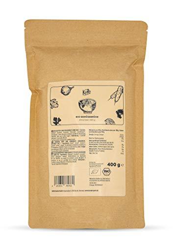 KoRo - Brodo vegetale bio senza sale 400 g - brodo granulare biologico in polvere senza carne e...