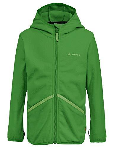 Vaude Kinder Jacke Kids Pulex Hooded Jacket, Parrot Green, 110/116, 41857