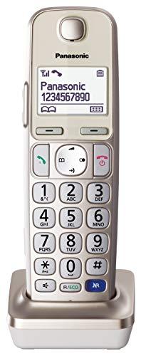Panasonic KX-TGEA20EXN Optionales Mobilteil, Champagner