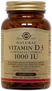solgar vitamin d3 1000 iu 250 softgels