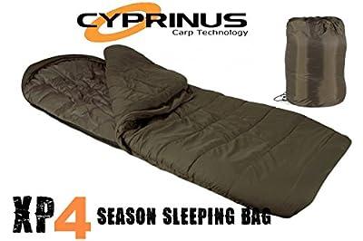 Cyprinus Explorer XP4 4 Season Carp Fishing Sleeping Bag from Cyprinus