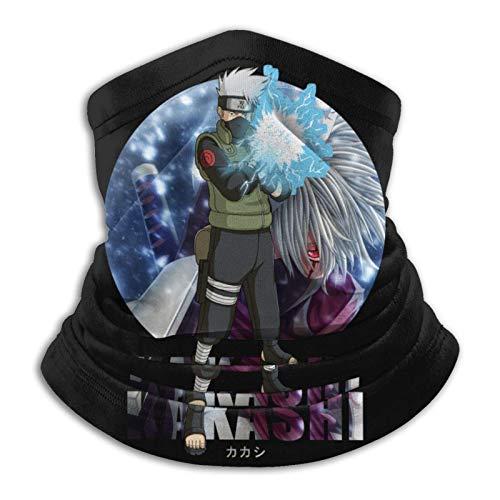 AmyNovelty Magic Headband,Diadema con Bufanda Kakashi N-A-Ruto, Diademas Ligeras 12 En 1 para Correr Deportivo,26x30cm