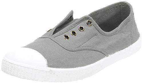 Victoria Inglesa Elastico Tenido Punt, Damen Sneaker, Grau (Gris), 37 EU