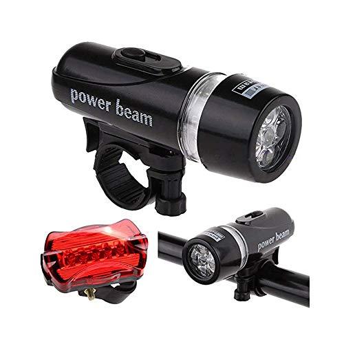 5 LED wasserdichter Power Beam Fahrradscheinwerfer Scheinwerfer Taschenlampe Fahrradscheinwerfer