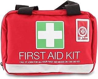 St John Ambulance Australia Small Leisure First Aid Kit, Red