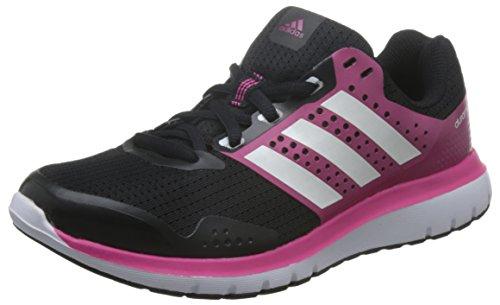 adidas adidas Damen Duramo 7 W Laufschuhe, Negro / Blanco / Rosa (Negbas / Ftwbla / Granit), 36 2/3 EU