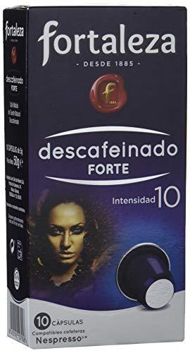 Café FORTALEZA - Cápsulas de Café Descafeinado Forte Comp