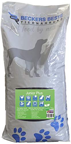 Beckers Beste - glutenfreies Welpen Hundefutter 15kg - Junior Plus Welpenfutter mit Geflügel ohne Weizen - Trockenfutter für große und kleine Hunde