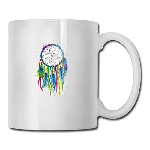 Feather Native Americans Tasse, Kaffee Heißgetränke Tasse, Steinzeug Tasse, Keramik Kaffeetasse, Teetasse 11oz lustiges Geschenk Kaffee Tee Tasse