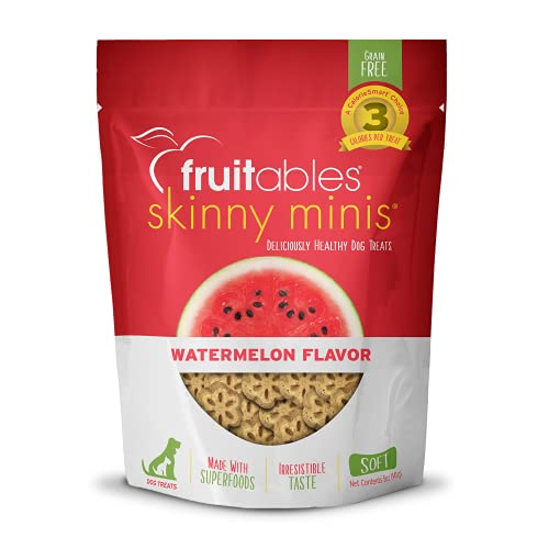Fruitables Skinny Mini Dog Treats | Healthy Treats for Dogs...