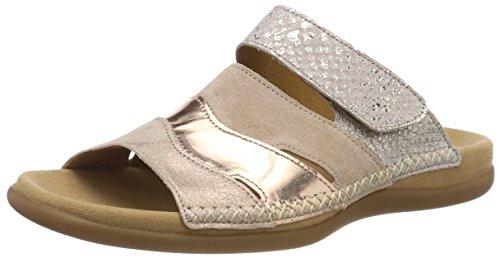 Gabor Shoes Damen Jollys Pantoletten, Mehrfarbig (Rame/Rouge/Rose), 37 EU