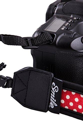 【スペイン生まれのキュートなカメラグッズ】カメラストラップSmileCameraStrapHungup一眼おしゃれHipster