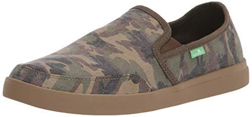 Sanuk Vagabond Slip-On Sneaker Woodland Camo 11 D (M)
