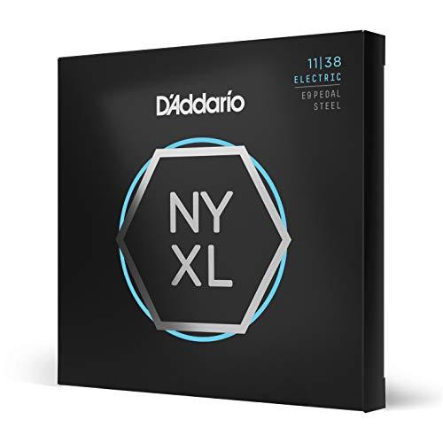 D 'Addario nyxl1138ps Regular Light 11–38Nickel Wunde Pedal-Steel-Gitarre Saiten