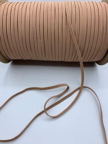 Trimplace Tan Braided Elastic Stretch - 24 Yards (3/16')