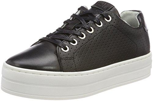 BULLBOXER Damen 987000E5L Sneaker, Schwarz (Black), 38 EU