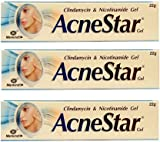 ACNESTAR GEL is composed of two medicines Clindamycin and Nicotinamide. Clindamycin is a lincomycin antibiotic that acts by penetrating inside the skin and helps in killing the acne-causing bacteria and Nicotinamide is a form of vitamin B which is re...