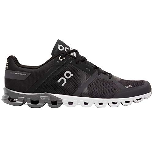 On Herren Laufschuhe Cloudflow, black / asphalt, EU 45