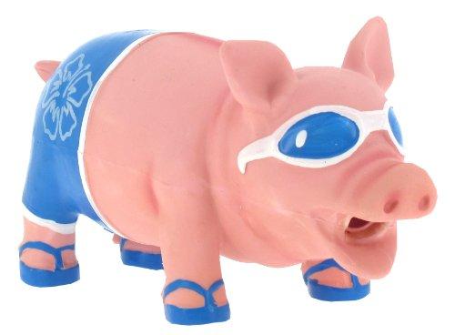 Vitakraft Hundespielzeug Sommer-Schwein, in Rot oder Blau erhältlich