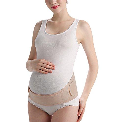 KOOYOL Fajas Embarazo Premamá Ajustable Cinturón Apoyo Abdominal Transpirable Embarazadas Mujeres para Evitar Dolor Espalda