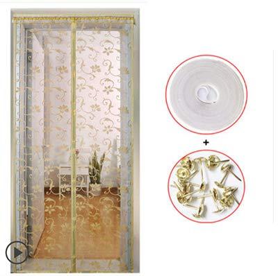 Tende anti-zanzara estive di alta qualità magnetiche tende in tulle chiudono automaticamente lo schermo della porta della cucina tenda della maglia porta varie dimensioni A1 W120xH210