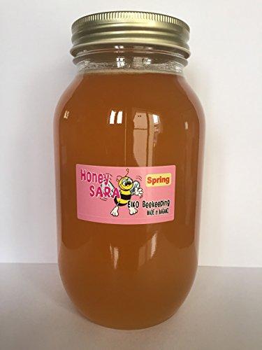 信州産 春の百花蜂蜜 1200g (梅、桜、杏、りんごなど) 純粋国産はちみつ 非加熱非加糖