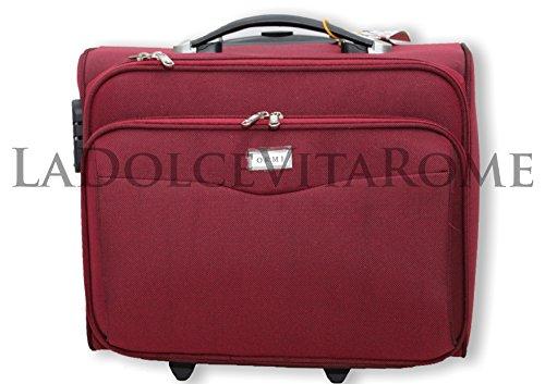 VALIGIA TROLLEY BAGAGLIO A MANO Pilota Business Pc RYANAIR EASY JET LOW COST (Bordo)