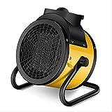 CAREXY El Calentador Industrial baño de Agua Inclinación del Ventilador del Calentador de cerámica Infinitamente Patio Calentadores de Gas al Aire Libre para el jardín al Aire Libre de Interior