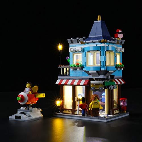 Sungvool Juego de luces LED para Lego Creator 3 en 1 Townhouse Toy Store 31105, juego de luces decorativas para Lego 31105 (sin modelo Lego)