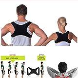 CS-BJZ - Corrección de Postura Ajustable para Adultos y Deportes, Soporte de Espalda para corsé y Columna Vertebral, Corrector de Postura escoliosis, como se Muestra en la Foto.
