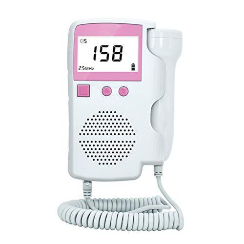 Qeedio Monitor de frecuencia cardíaca fetal de Mano Instrum